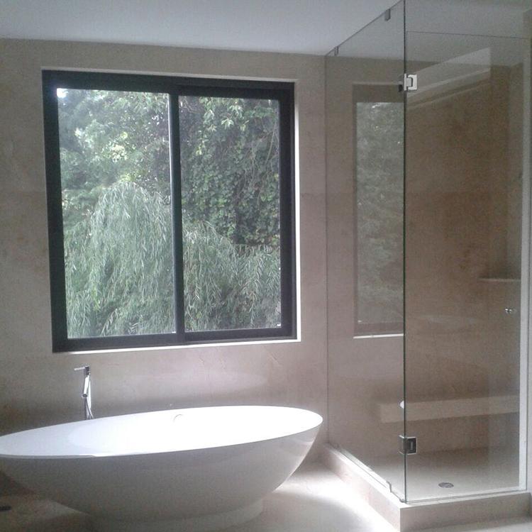cristal claro baño