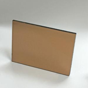 vidrio bronce